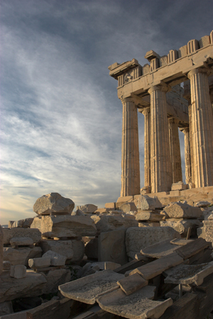 Parthenon South View